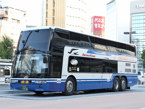 JR東海バスで名古屋から東京へ 2階建てバスの9A席 …